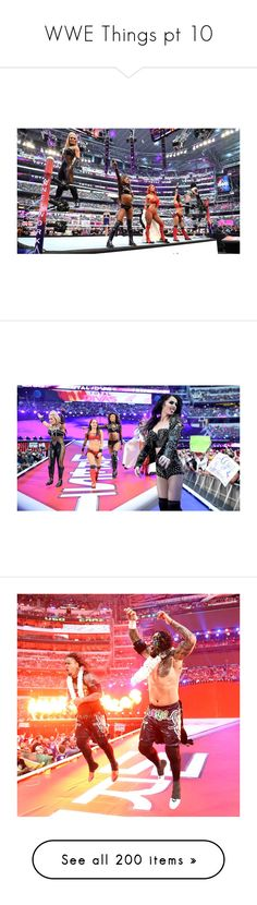 """""""WWE Things pt 10"""" by nikki-usmc92 ❤ liked on Polyvore featuring home, home decor, home improvement, jewelry, earrings, wwe, accessories, arena, seth rollins and furniture"""