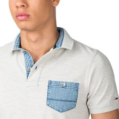Hopper Polo - 038 - Polos, van Tommy Hilfiger Polo Rugby Shirt, Polo T Shirts, Men's Polo, Moda Chic, Moda Casual, Mens Fall, Men Street, Mens Fitness, Fashion Details