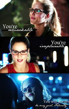 Arrow - Emily Bett Rickards - My girl - Felicity Smoak - Oliver Queen – Stephen Amell - Olicity Arrow Felicity, Oliver And Felicity, Felicity Smoak, Arrow Tv Series, Cw Series, Arrow Serie, Dc Tv Shows, Movies And Tv Shows, Arrow Oliver