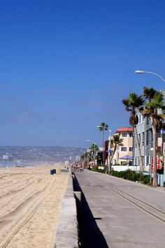 """Mission Beach, San Diego, California--A different kind of lifestyle for sure..maybe why they chose it for the """"Three's Company"""" sitcom location"""