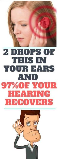 2 Drops of This In Your Ears and of Your Hearing Recovers! Even Old People From 80 to 90 Are Driven Crazy by This Simple and Natural Remedy - Solutions For Healthy Life Health Tips For Women, Health Advice, Health And Beauty, Health And Wellness, Health Care, Health Fitness, Health Diet, Healthy Women, Healthy Tips