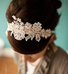 Cadeau DIY : un headband vintage