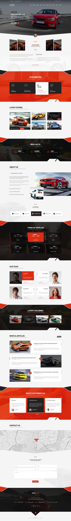 AUTOZONE Car Dealer PSD Theme - Download theme here : http://themeforest.net/item/autozone-car-dealer-psd-theme/12895577?ref=pxcr