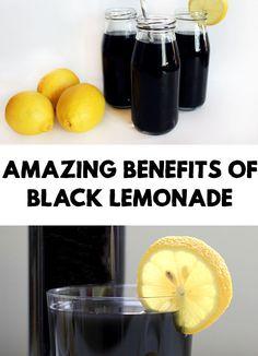 Amazing Benefits of Black Lemonade
