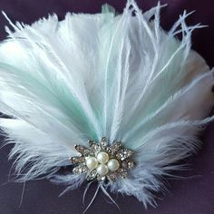 Check out this item in my Etsy shop https://www.etsy.com/listing/257742547/wedding-vintage-style-bridal-fascinator