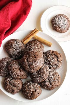 Mexican Hot Chocolate Cookies | Dash of Texas