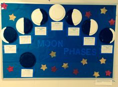 My moon phases bulletin board!