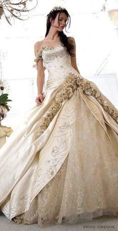 wedding dresses, feel like a princess