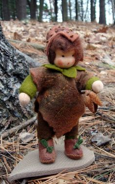 Handmade Waldorf Doll Flower Child Beechnut by isabellajansen, $39.00