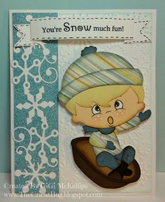 The Cricut Bug: You're Snow Much Fun!