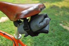 Bicycle Tool Roll Saddle Bag Three Pocket by MakeThingsDoStuff