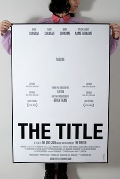 Movie poster #template
