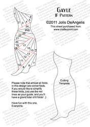 Iris Paper Folding Templates | Card Making · Iris Folding Patterns · Fashion · Items by Jolis ...