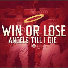 ANGELS ARE MY TEAM AND DONT THINK THAT AFTER LOSING I WONT BE ANYMORE BC TRUST ME I LOVE THEM❤