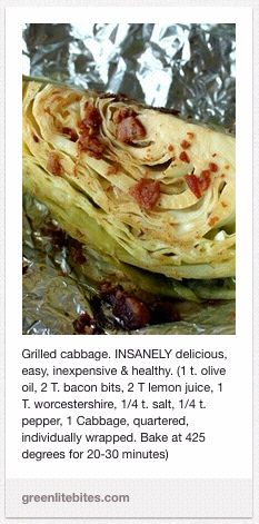 Grilled/Baked Cabbage   The Cowgirl's Foodie Blog - Holm Family Cookbook