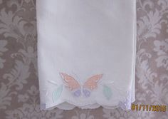 Cottage Chic Tea TowelVintage Lightweight by angelinabella on Etsy