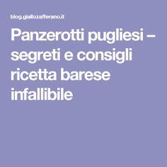 Panzerotti pugliesi – segreti e consigli ricetta barese infallibile