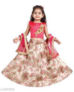 Checkout this latest Lehanga Cholis Product Name: *Ethnic Banglori Silk Lehenga Choli Set* Sizes:  6-12 Months, 9-12 Months, 12-18 Months, 18-24 Months, 1-2 Years, 2-3 Years, 3-4 Years, 4-5 Years, 5-6 Years, 6-7 Years, 7-8 Years, 8-9 Years, 9-10 Years Easy Returns Available In Case Of Any Issue   Catalog Rating: ★4.1 (398)  Catalog Name: Cutiepie Ethnic Banglori Silk Lehenga Choli Sets Vol 1 CatalogID_483232 C61-SC1137 Code: 414-3471883-1731