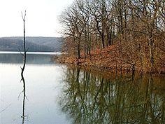 Grandpa's favorite fishing spot...Lake Bixhoma