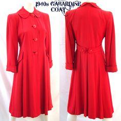 1940 coat superbe
