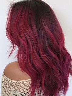 23 Examples of Gorgeous Red Ombré Hair