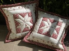Patchwork pillow by Epnika