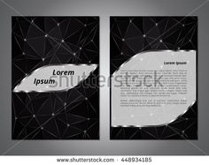 Cover template. The concept of brochures, booklets, flyers. The basis for the banner presentation. Blank layout for information, announcements or advertising. Vector illustration.