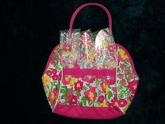 NIP Lilly Pulitzer Gardening Tote BAG SET With 3 Tools Pink Gardens BY THE SEA | eBay.  Must. Have. This.