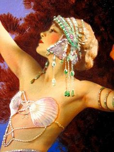 Song of the Nile Detail L Goddard 1931