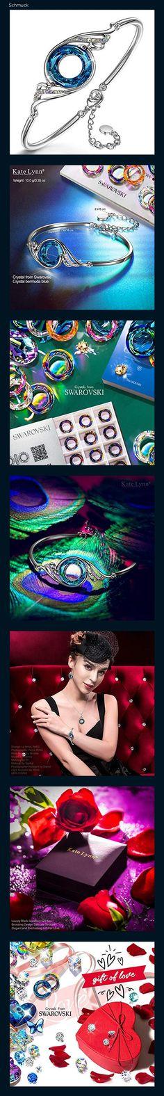 Kate Lynn Armband Frauen schmuck Damen Swarovski Kristallarmband geschenkset schmuckkästchen Geschenke für Frauen Mama Frau Freundin Mädchen Freunde Jahrestag Geschenkidee - 14hd