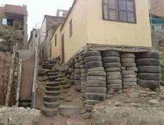 #Bau #Pfusch #Hausbau #Beton #Witzig   #Schalung #Mauer #Mexico   #madeinusa   #reifen #reifenlager #trumptower