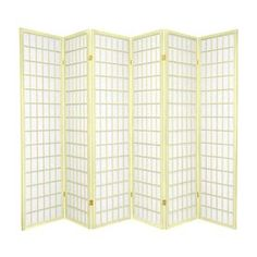 monarch specialties 3panel white fabric folding indoor privacy screen i products