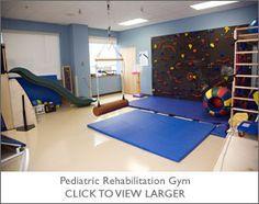 Pediatric Rehabilitation Gym