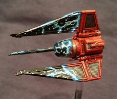 TIE Phantom with a cloaking/royal guard repaint | X-wing Miniatures
