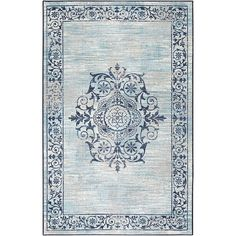 Rossington Lt Blue Rug Mohawk Home Modern Area Rugs Blue Area Rugs Mohawk Home