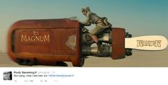 La forme du nouveau vaisseau de transport de la nouvelle héroine déjà parodiée sur twitter - cliquer dessus pour agrandissement