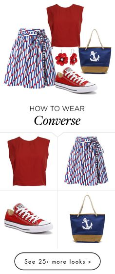 """""""Style Maven"""" by sassyladies on Polyvore featuring Marc Jacobs, Converse and Alice + Olivia"""