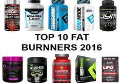 Top 10 Fat Burners For Men & Women - 2016