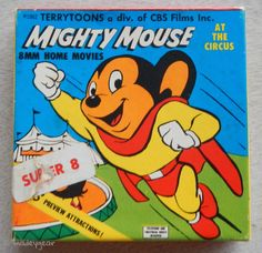 This is for the purchase of a single 8 MM Home Movie from 1962- Mighty Mouse At The Circus.