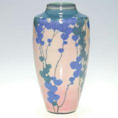 ~Rookwood~Artist: Kataro Shirayamandi~Circa 1922~Cascading Ivy Design~