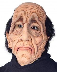 Butler Did It Mask SKU: M2569 Distinguished, yet Droopy eyed balding male character mask. Zagone Masks & Costumes | Zagone Studios