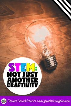 STEM: NOT JUST ANOTHER CRAFTIVITY | Jewel's School Gems by Jewel Pastor | Are you really doing STEM? Read on to make sure that what you're doing is really STEM and not just another craftivity. Download a FREE STEM activity, too! #stemactivities #stemchallenges