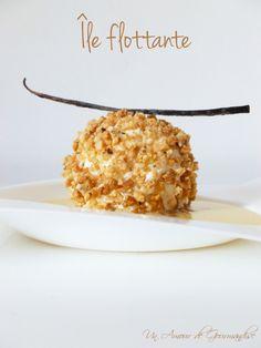 Une île flottante??? Pas très original me direz vous! Oui, certes! Mais ce n'est pas n'importe quelle île flottante, il s'agit de la version revue et corrigée par Christophe Michalak, le grand chef pâtissier du Plaza-Athénée à Paris. Un dessert tout en...