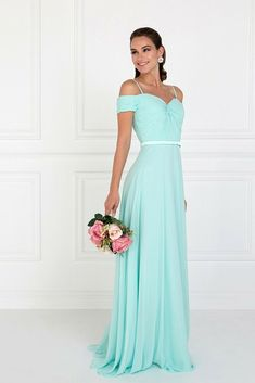 37a6ca7d859 New Women Formal Mother Of The Bride CHIFFON Long Evening Dress Gown XS-3X  MINT