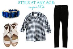 Style At Any Age: Check Flannel in your 50s   Taim Boutique