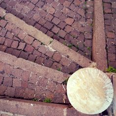 Texture Detail Fermo Stripe Festival art and architecture | stone | paved | stairway |