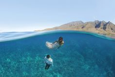 underwater engagement photos by Adam and Shawn-Marie Ravazzano of Love & Water Photography, Hawaii ~ pretty amazing shots!   via Huffington Post