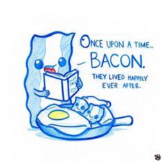 PodgyPanda Bacon love :)