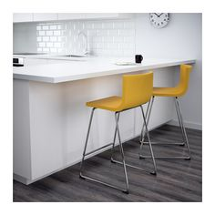 BERNHARD Bar stool with backrest  - IKEA