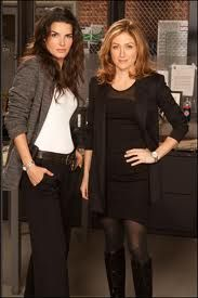 Rizzoli and Isles  Sasha looks so different than when she was on NCIS....being a blonde becomes her